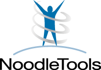 image of a stick-figure with the word NoodleTools